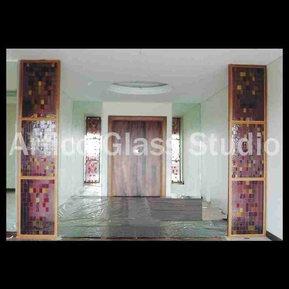 stained glass partition malaysia