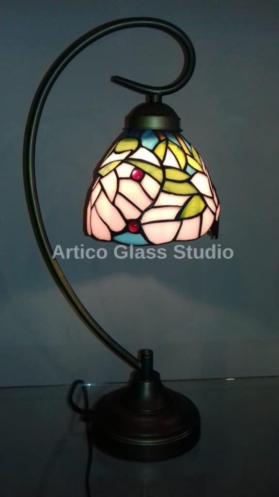 tiffany stained glass study table lamp malaysia