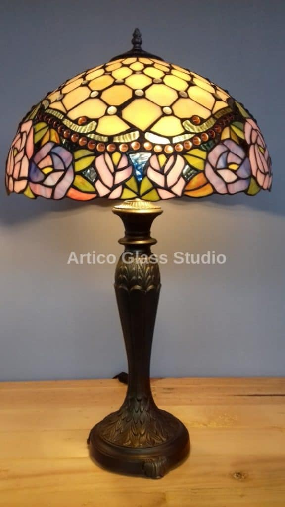 tiffany stained glass table lamp malaysia