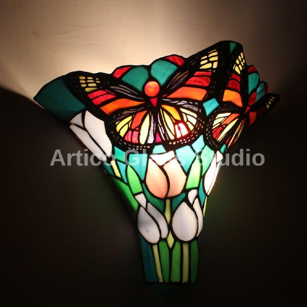 tiffany stained glass wall light malaysia