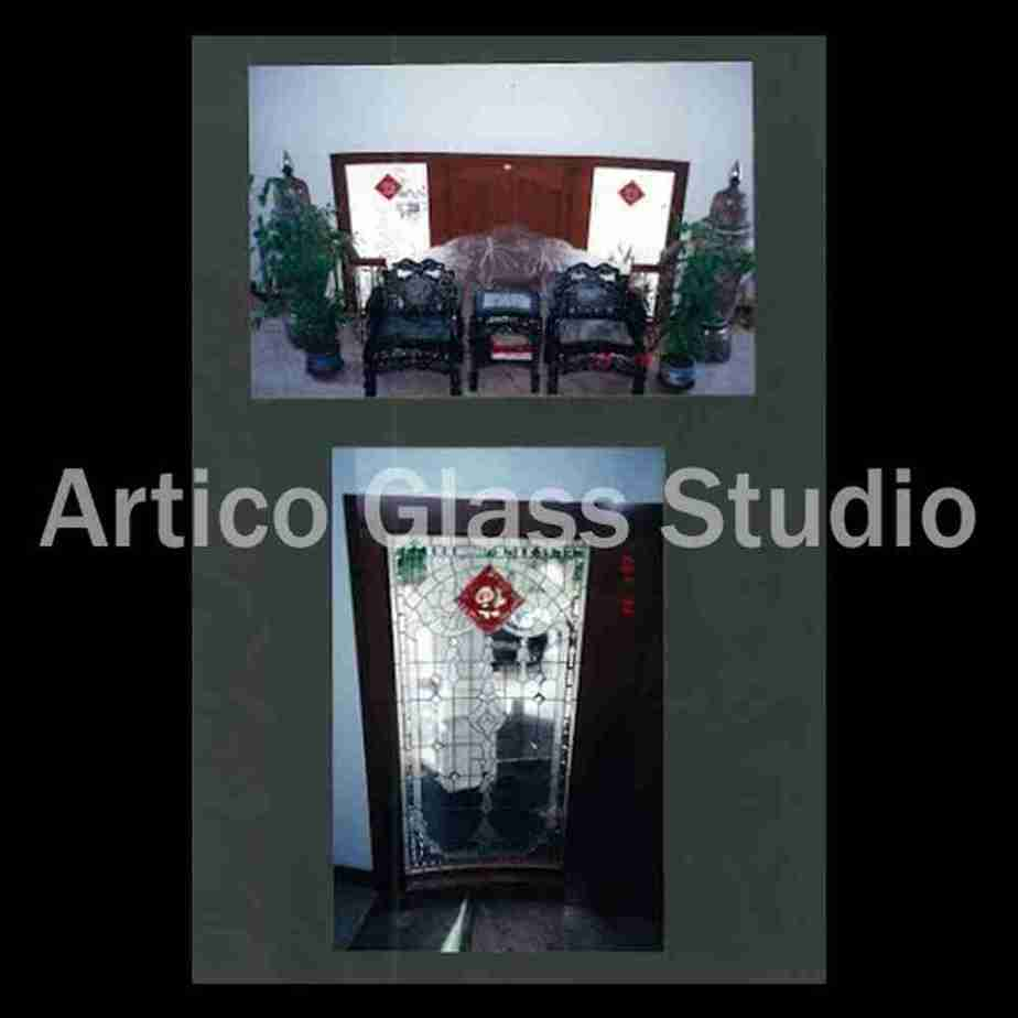 stained glass beveled glass door malaysia