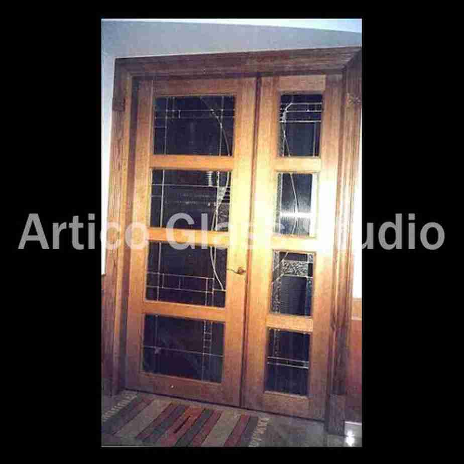 stained glass contemporary design door malaysia