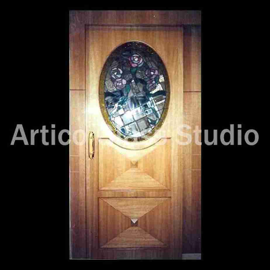 stained glass bevel door malaysia