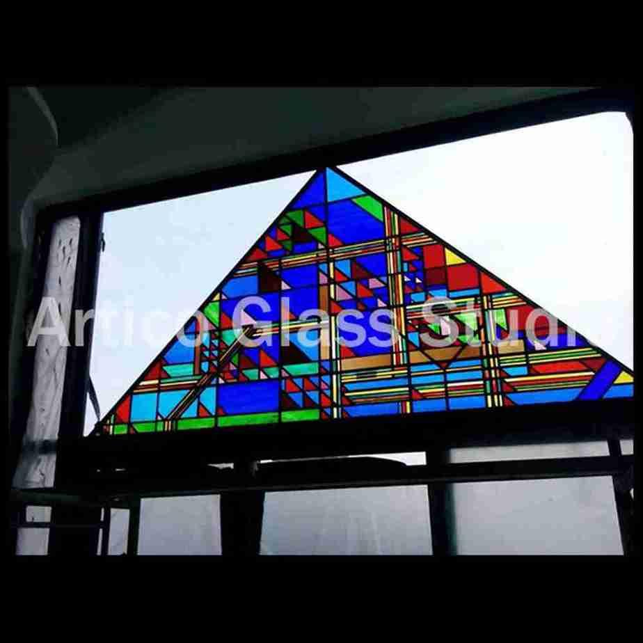 stained glass art malaysia window panel