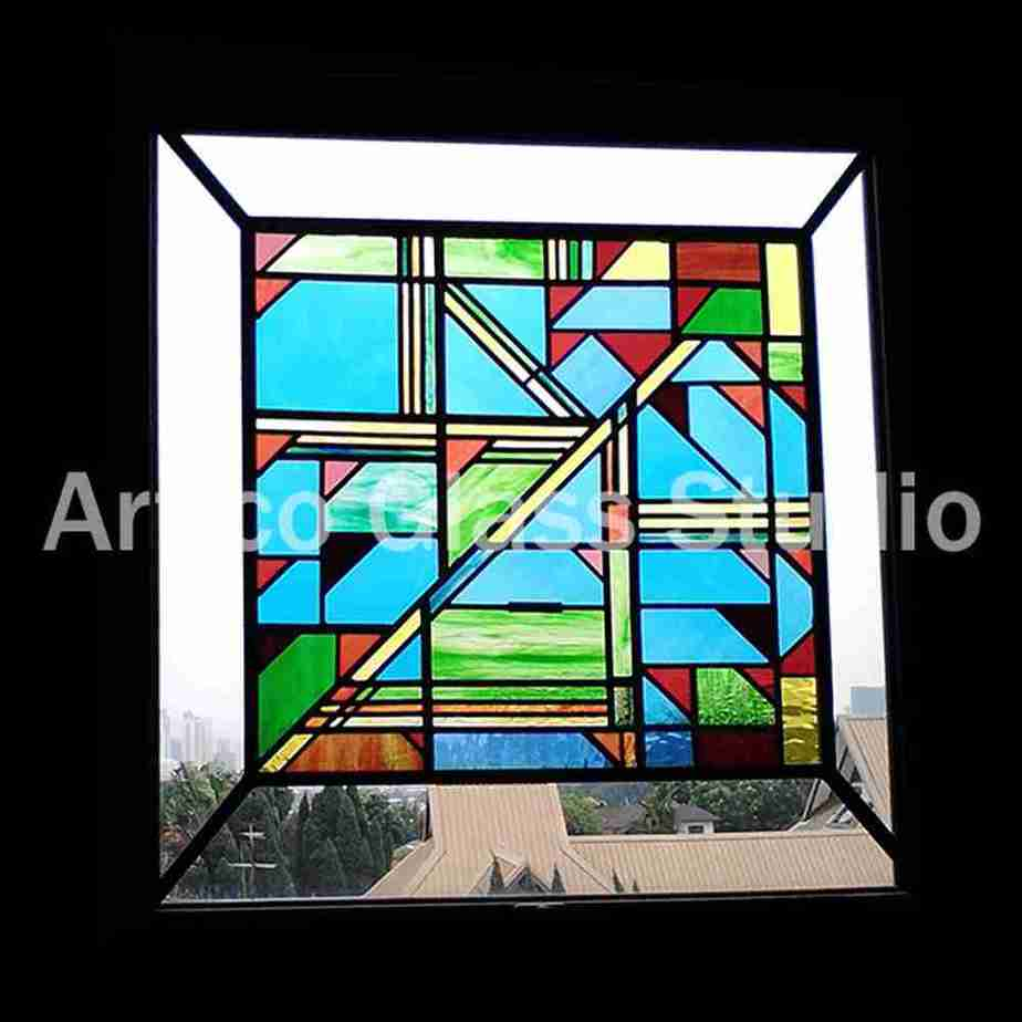stained glass malaysia contemporary window panel