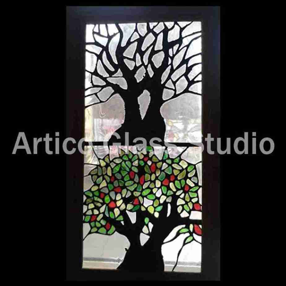 stained glass art malaysia tree of life artico