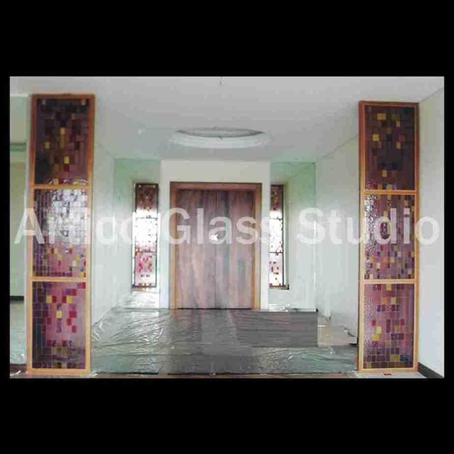 bevel glass partition malaysia artico glass studio