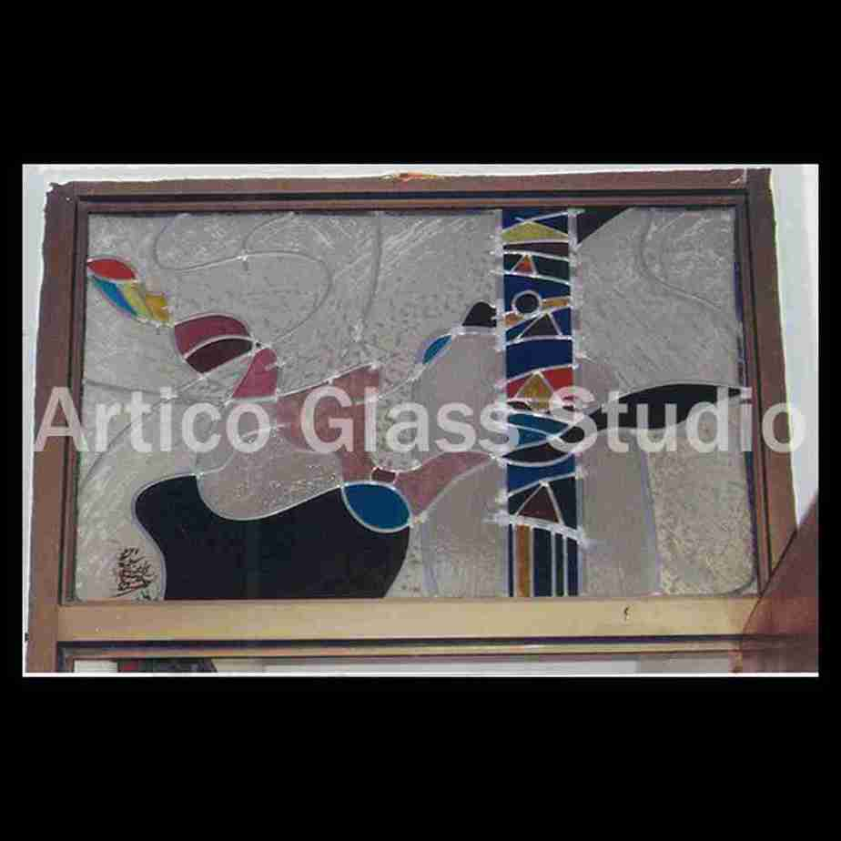 stained glass transom contemporary kuala lumpur malaysia