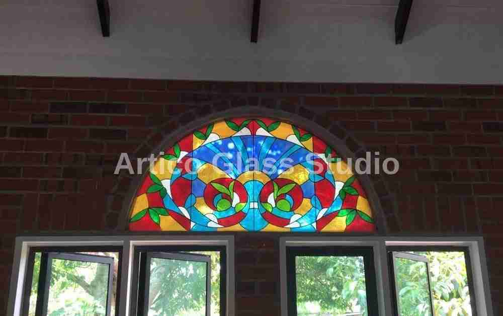 stained glass transom malaysia artico