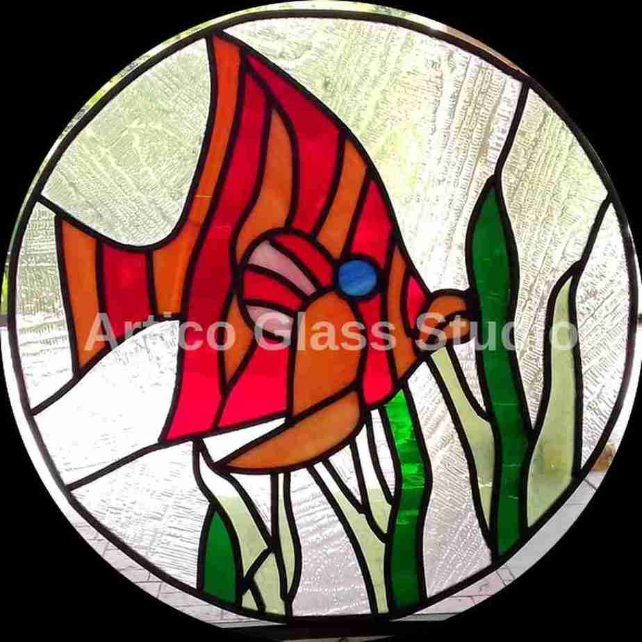 stained glass fish malaysia