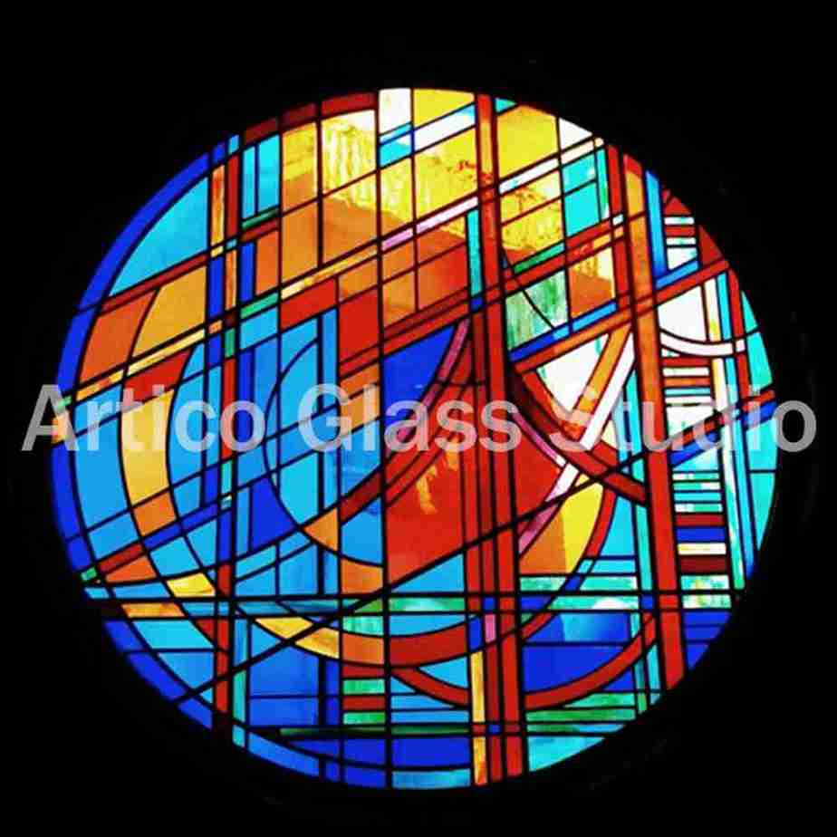 stained glass art malaysia 1.5 meter window artico