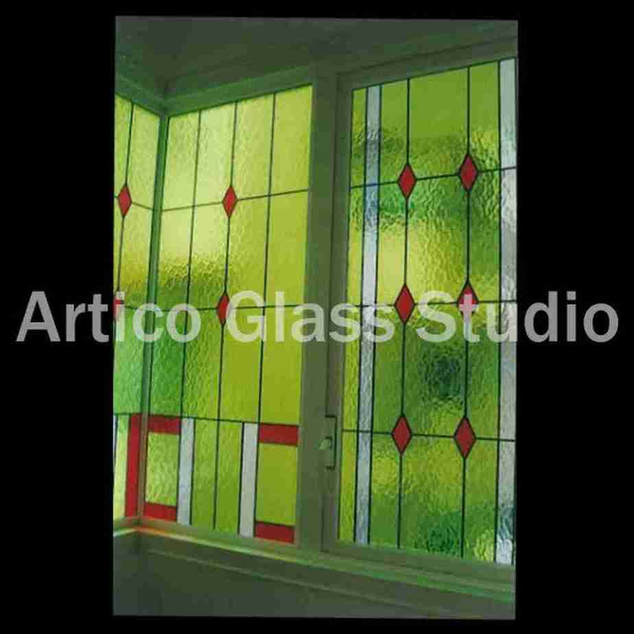 stained glass textured glass window malaysia