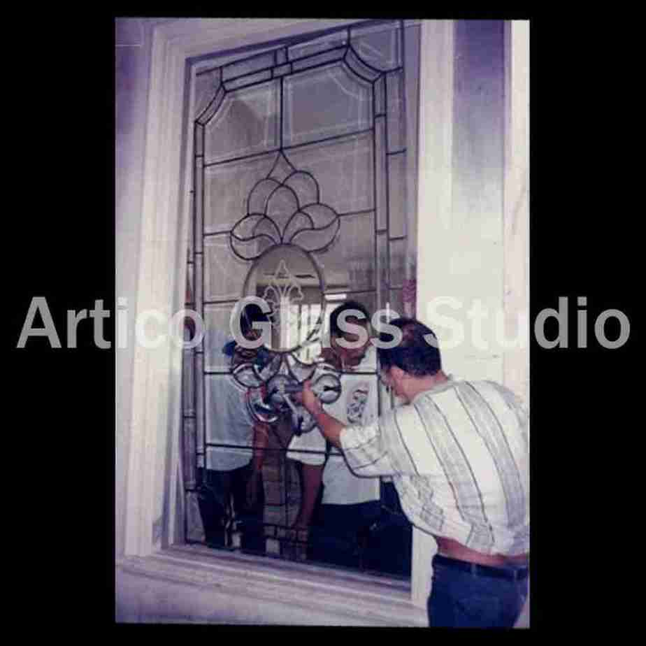stained glass window installation malaysia