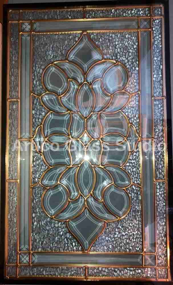 bevel glass malaysia door insert