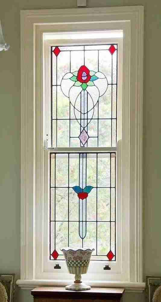 stained glass window contemporary design